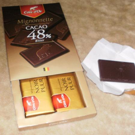 コートドール ミニョネッツ・ビター・チョコレート