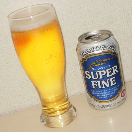 韓国ビール スーパーファイン