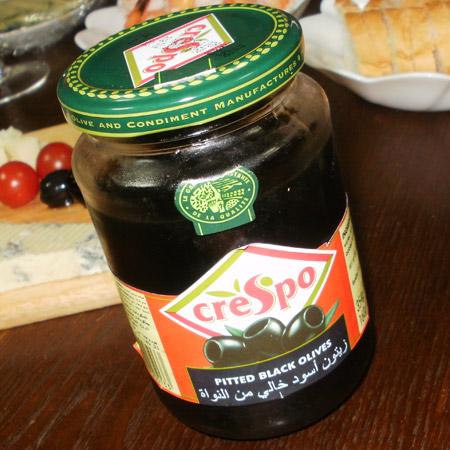 クレスポ ブラックオリーブ(種抜き)160g