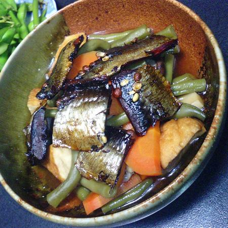 ニシンと野菜の煮物