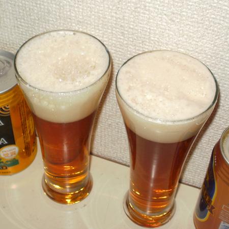 銀河高原ビール ペールエール vs よなよなエール 飲み比べ対決