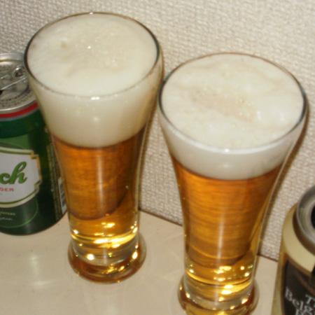 グロールシュ vs ザ・ベルギー ビール 飲み比べ対決