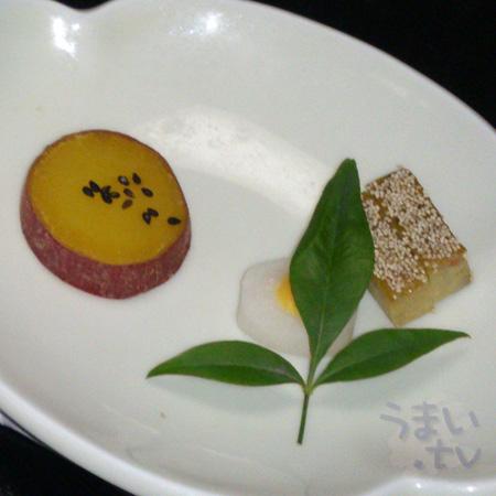 前菜 伊勢志摩あるの彩り 手作り旬采三種盛