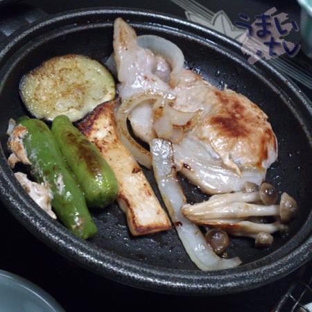 焼物 三重健康豚陶板焼き