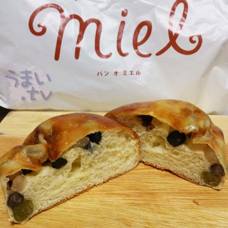 パン オ ミエル 豆パン