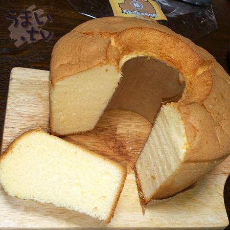 福島県産米粉で作った シフォンケーキ5号 ラ フォンティーヌ