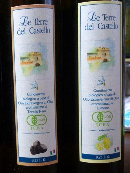 イタリア産 有機エキストラヴァージンオリーブオイル レモン
