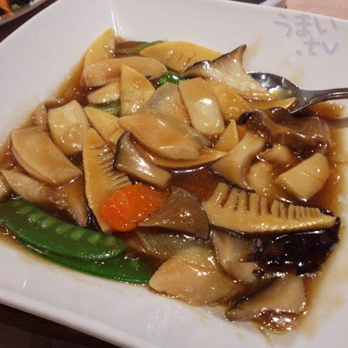 横浜中華街 千禧楼 アワビの醤油煮
