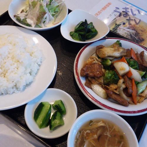 中国名菜 敦煌 ランチ