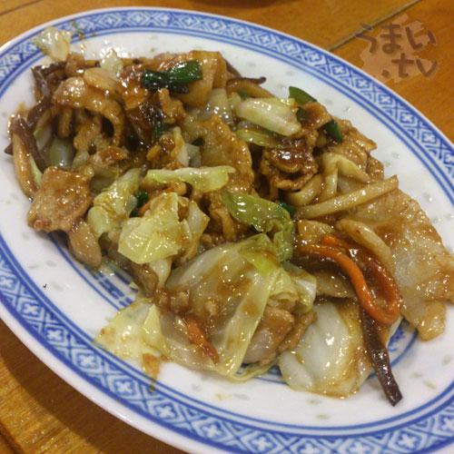 揚州商人豚バラと野菜の中国みそ炒め