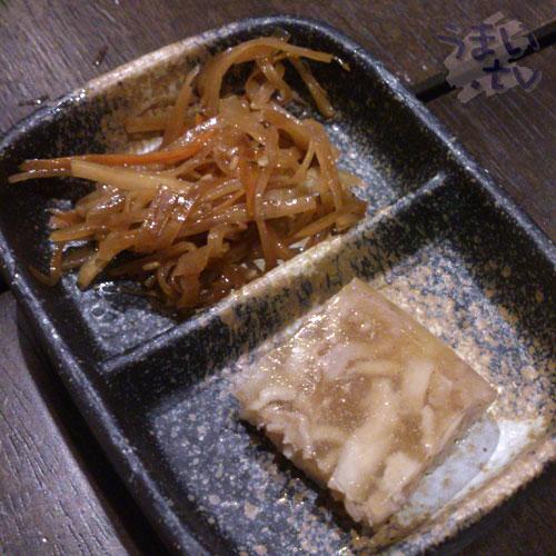 新宿歌舞伎町 魚魚家 お通し