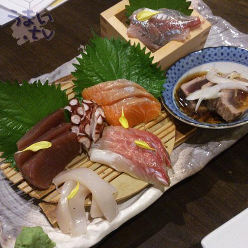 新宿歌舞伎町 魚魚家 刺し盛り