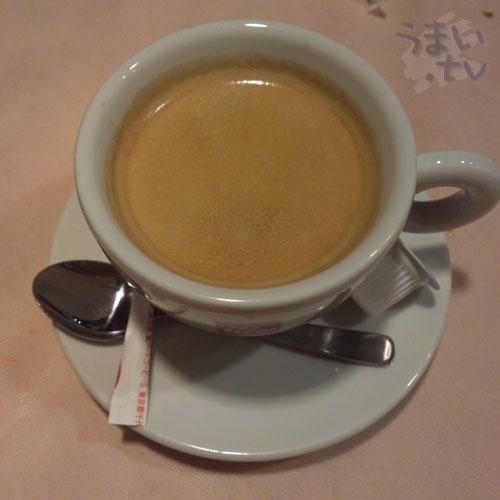 イタリア食堂 ブラーボ コーヒー