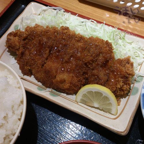 西新宿 小町食堂 チキンカツ