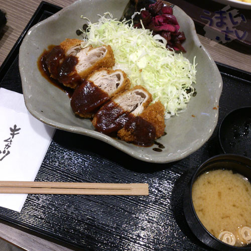 キムカツ亭 ダイバーシティ東京店
