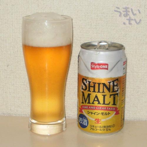 1眞露 (JINRO) シャイン・モルト 第4のビール