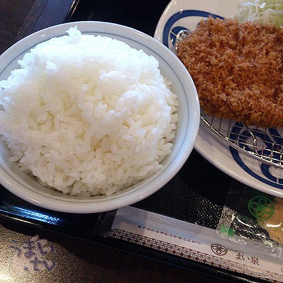 とんかつ まい泉 ララポート横浜 ご飯
