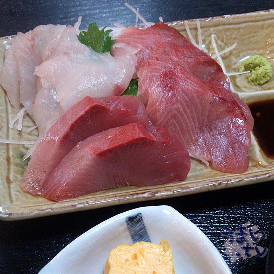市ヶ尾 水仙 お刺身定食