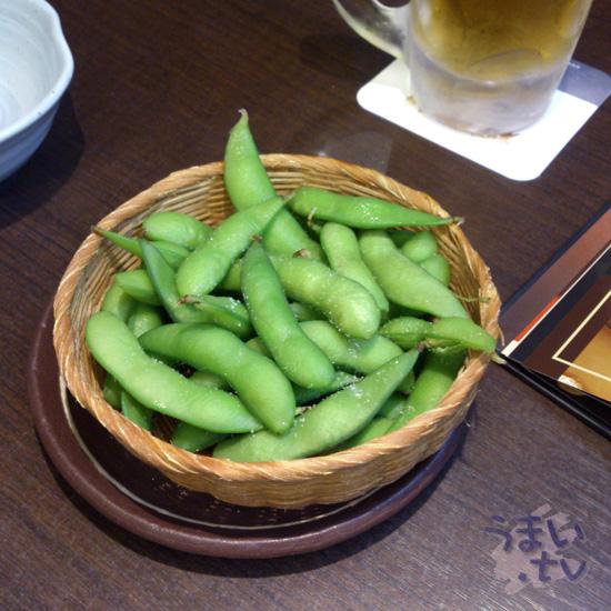 市ヶ尾 白木屋 枝豆