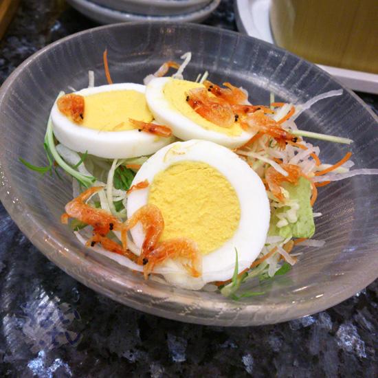沼津 魚がし鮨 ららぽーと横浜店 サラダ
