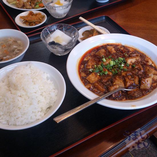 新横浜 清宏楼 麻婆豆腐ランチ