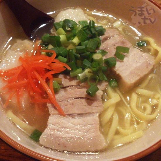 沖縄の店 南 沖縄そば 三枚肉