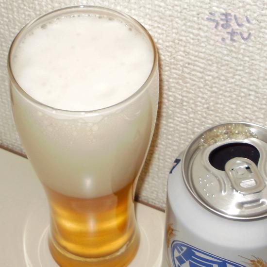 韓国産第4のビール「泡麦」