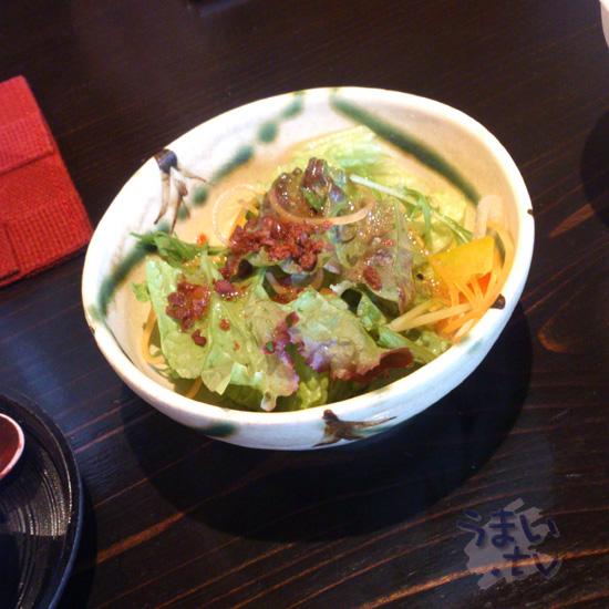 景虎 サラダ