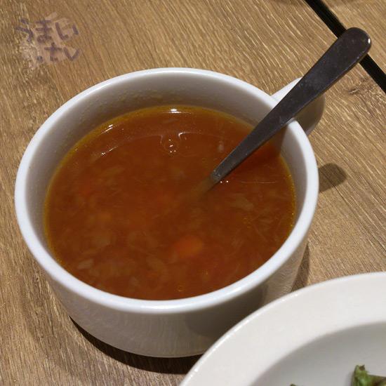 いしがまやハンバーグ ららぽーと横浜店 スープ