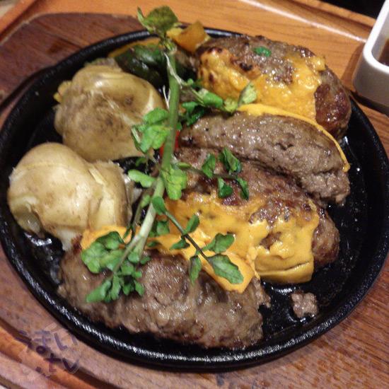 いしがまやハンバーグ ららぽーと横浜店 チーズ