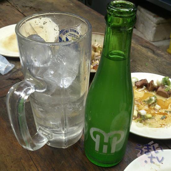 歌舞伎町 もつやき かみや レモンサワー