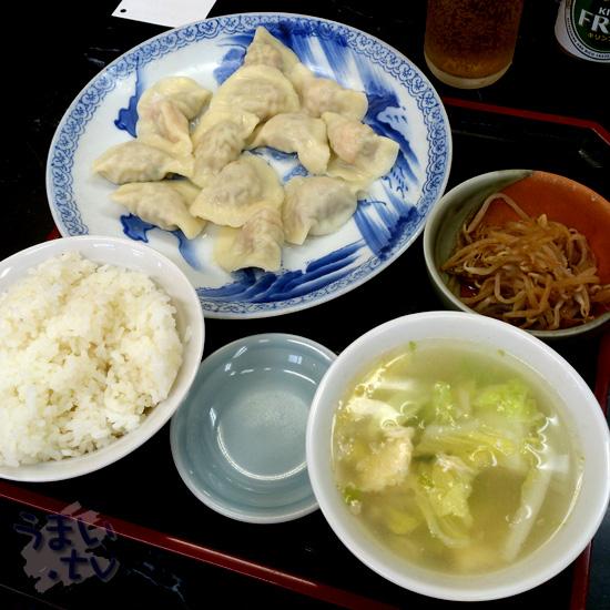平日限定 「水餃子12 ランチ」 960円