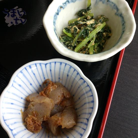 定食むにゅ 豚肉となすの味噌炒め定食 830円