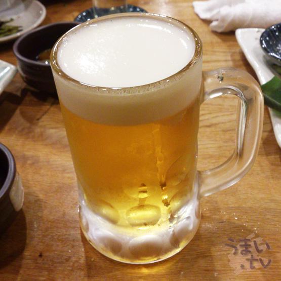エビス 市が尾店 生ビール
