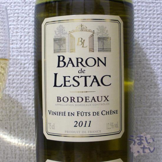 BARON de LESTAC 2011