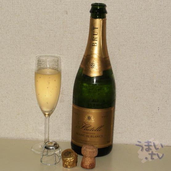Flutelle Vin Mousseux Blanc de Blancs