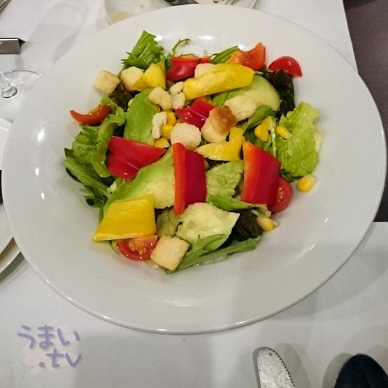 青山 the simple kichen サラダ
