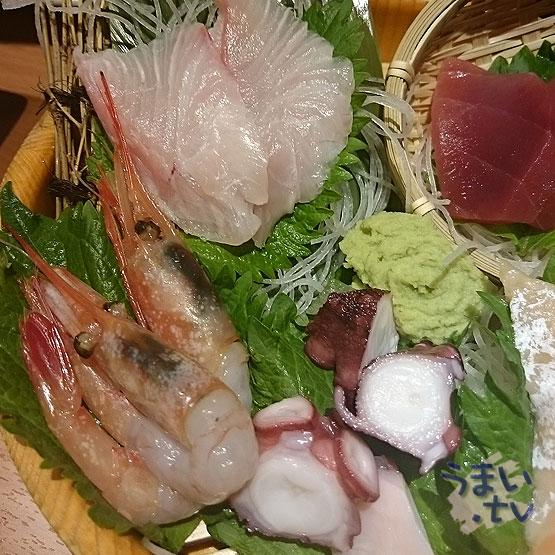 魚民 刺し盛り