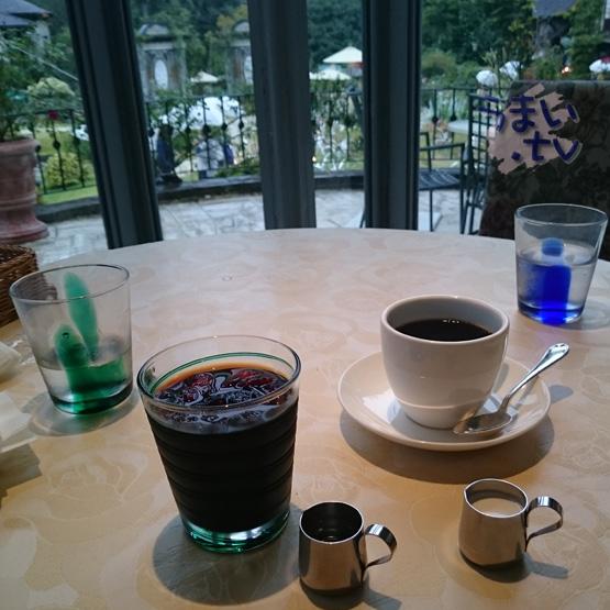 ガラスの森美術館内 カフェ テラッツァ