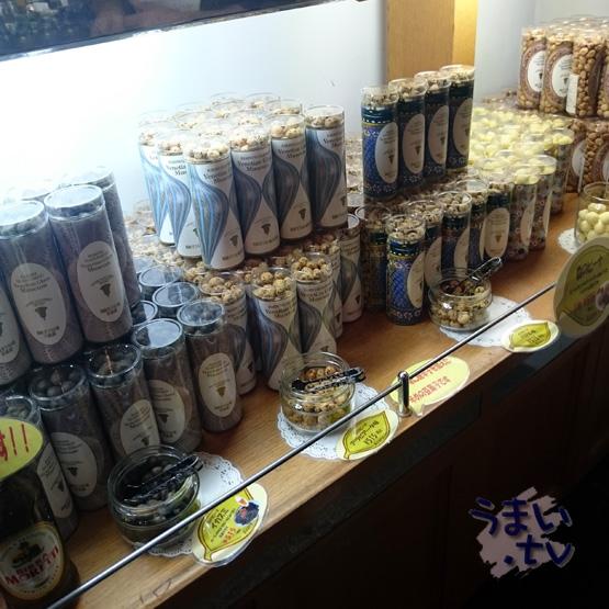 ガラスの森美術館内 メープル・シロップとジャムの店「アチェロ」