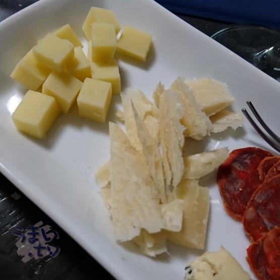 チーズ&イベリコ・チョリソサラミ