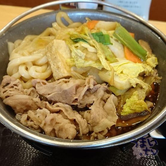 すき家の「新 牛すき鍋定食」