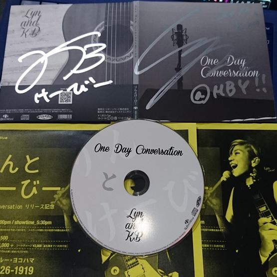 りんとけーびー 1st.アルバム 「One Day Conversation」