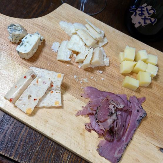 チーズ 生ハム