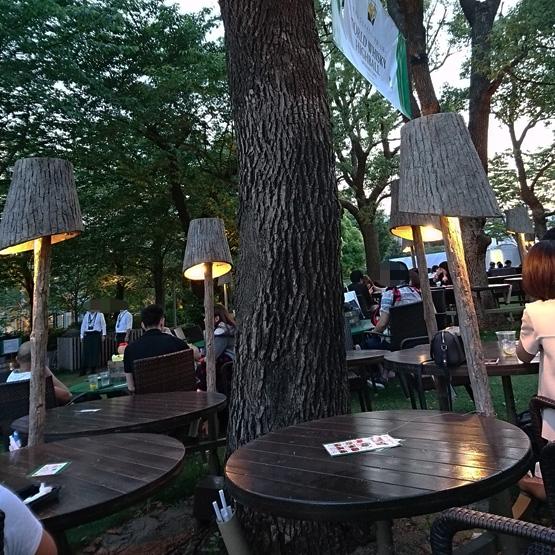 ワールドウイスキーハイボール ミッドパーク カフェ 東京ミッドタウン