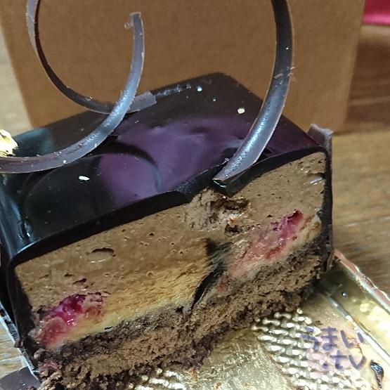 ラ・フォンティーヌ ホワイトデイ チョコレートケーキ
