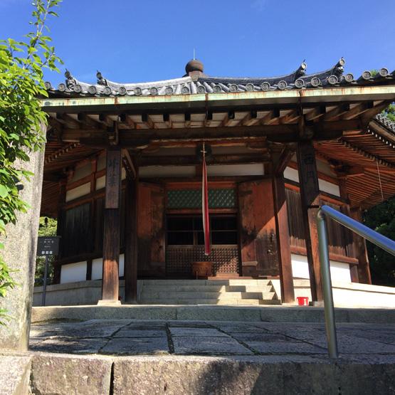 奈良斑鳩 法隆寺 西円堂