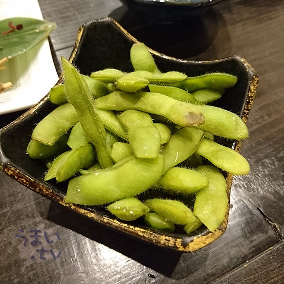 奈良 地場料理とおいしいお酒 KURA 枝豆