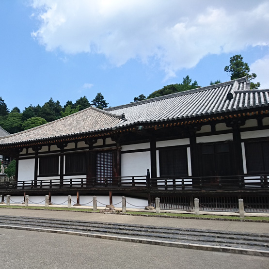 奈良 東大寺 法華堂(三月堂)