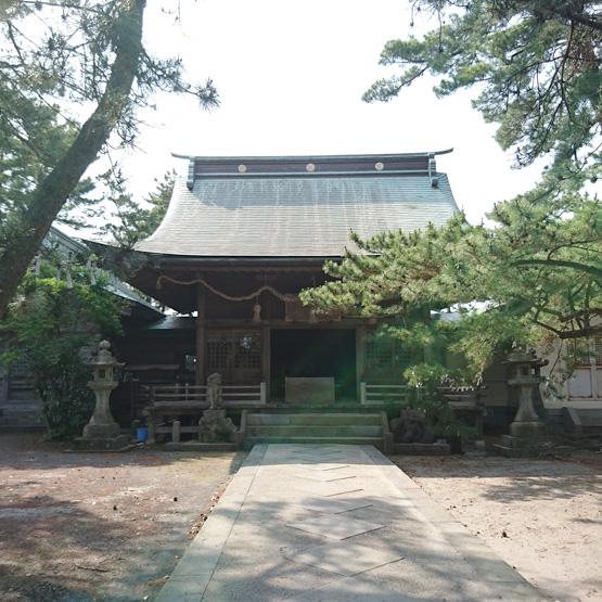 島原半島の鎮守神、産土神 猛島神社